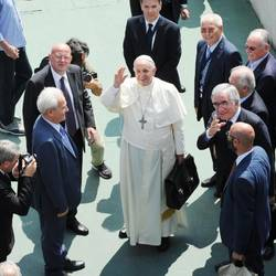 Francis' meeting with the Pentecostals in Caserta