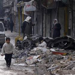War-torn Syria