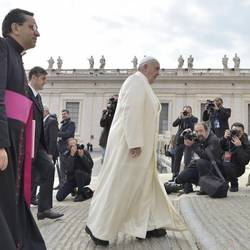 The Pope in St. Peter's Square