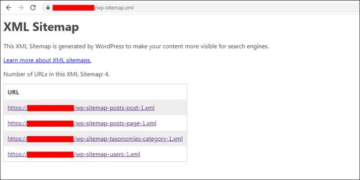 Cara membuat XML sitemap dengan WordPRess 5.5