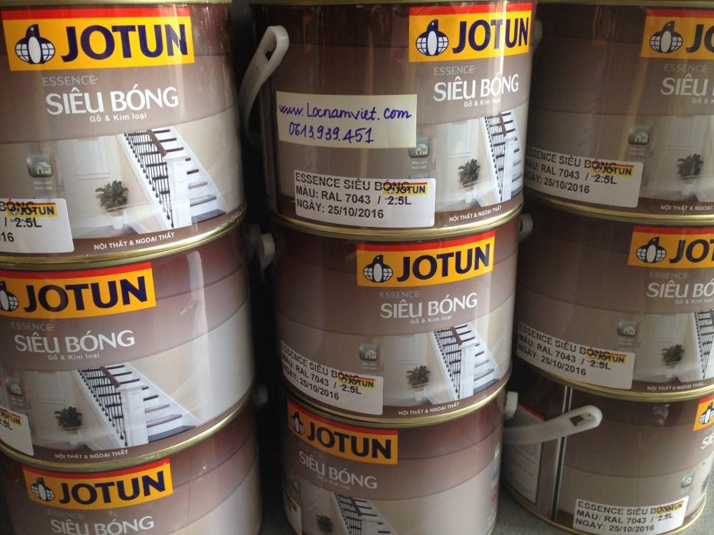 Sơn Jotun essence siêu bóng dùng cho sắt và gỗ