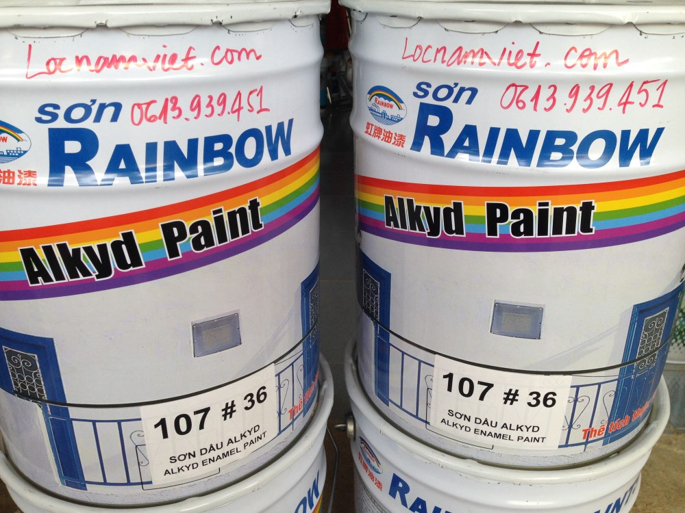 Sơn Dầu Rainbow 107#36-18L (1)