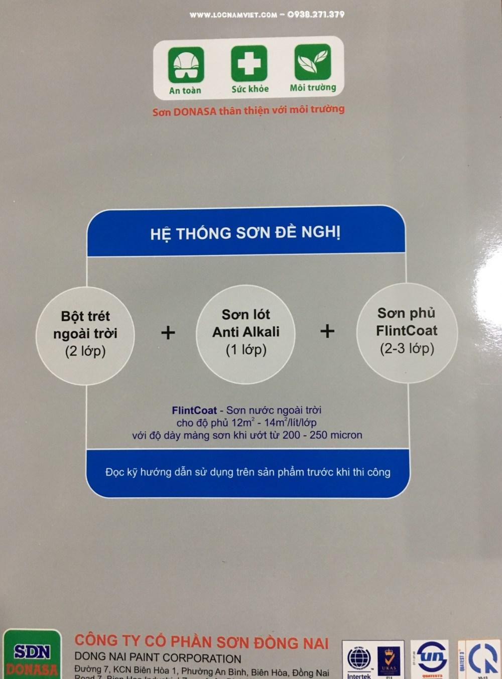 BANG MAU SON FLINTCOAT DONASA- (2)