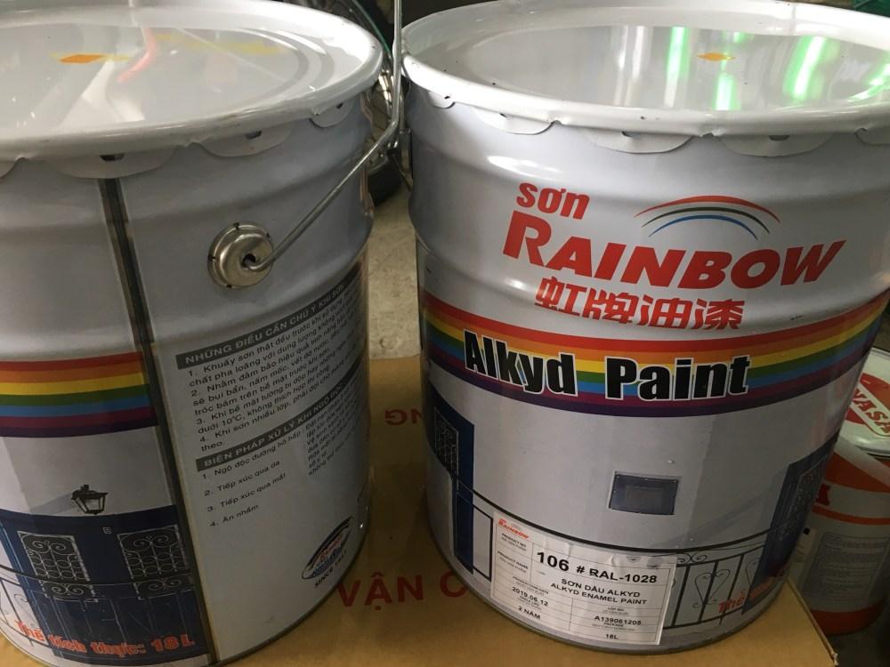 SON RAINBOW 106 RAL 1028 18L (3)