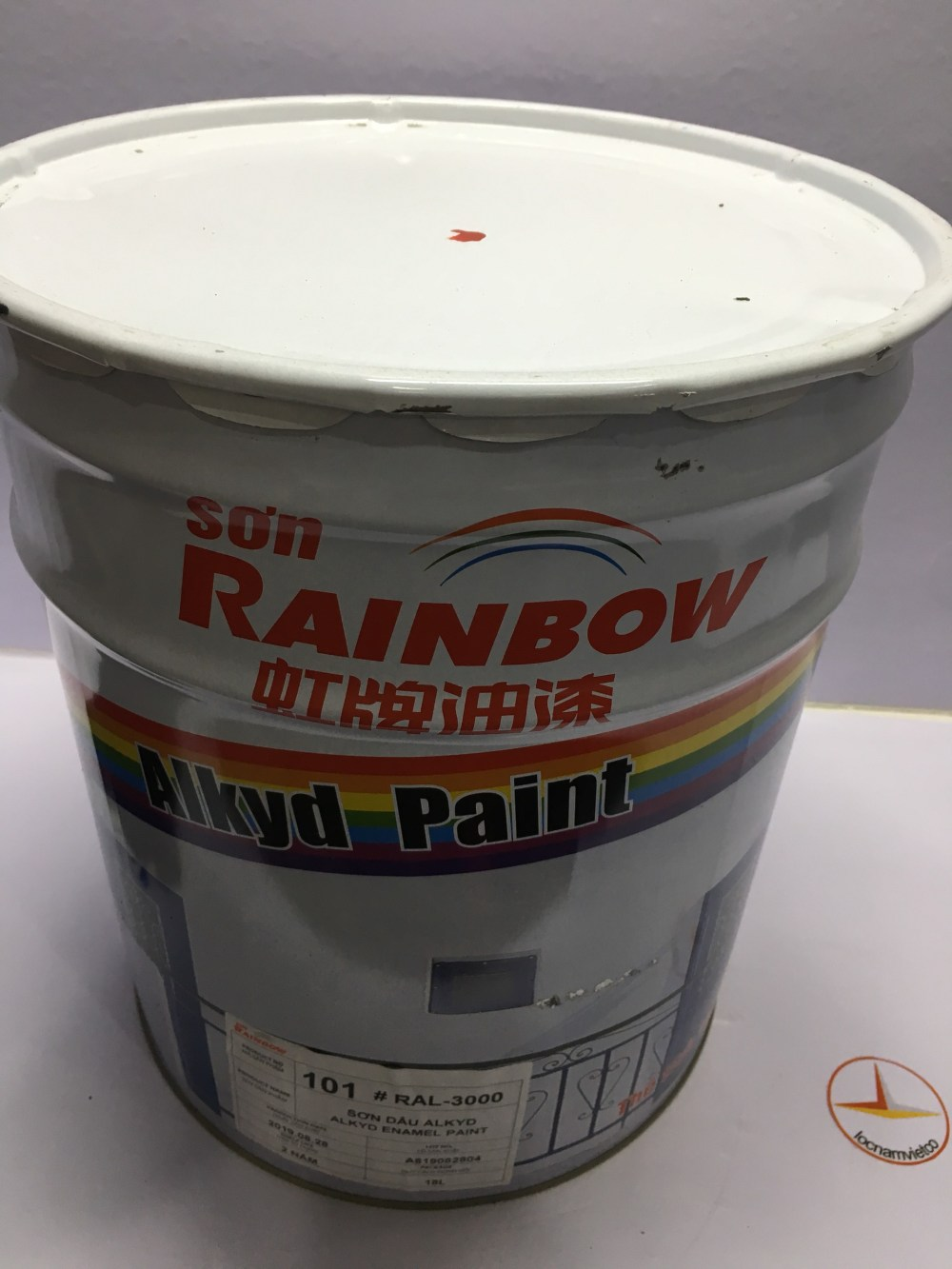SON ALKYD RAINBOW MAU DO RAL 3000 -18L (1)