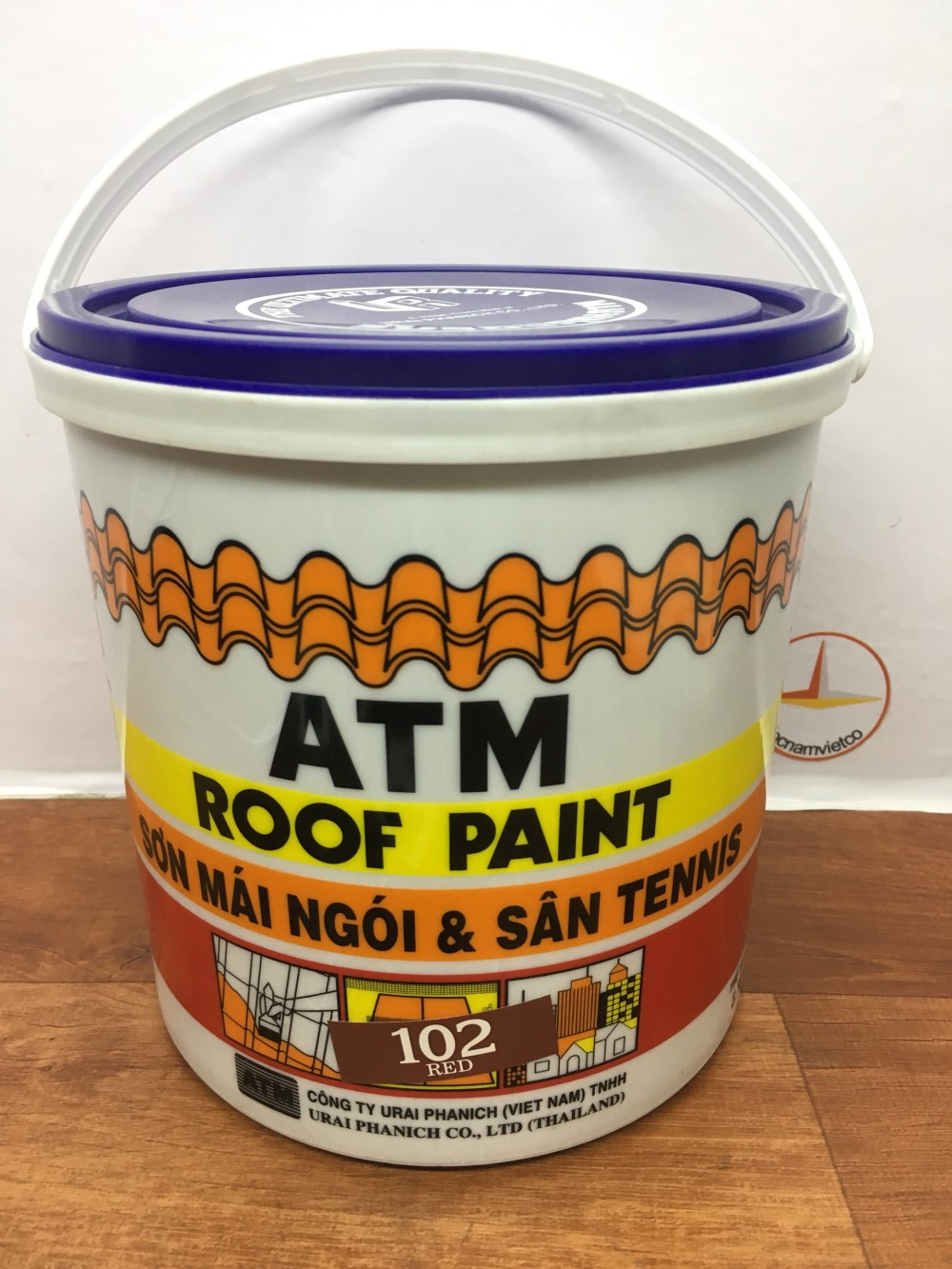 SON MAI NGOI & TENNIS ATM ROOF PAINT - (8)