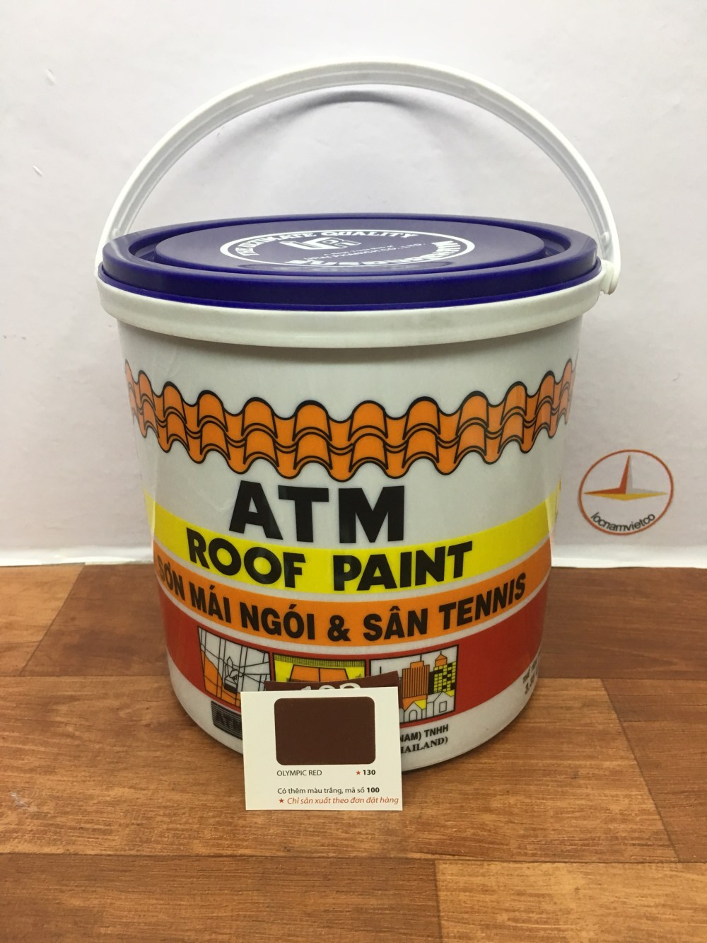 SON MAI NGOI & TENNIS ATM ROOF PAINT OLYMPIC RED 130 (1)