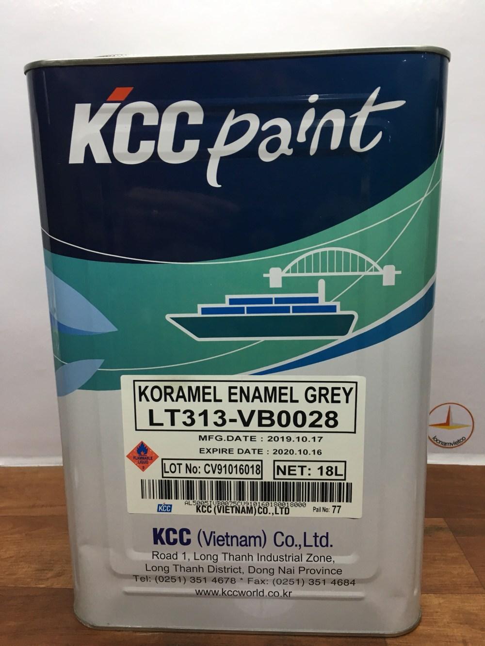 KORAMEL ENAMEL GREY LT313-VB0028 -18L (2)