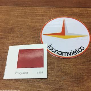 B295 ENSIGN RED -BANG MAU SON INTERNATIONAL (1)