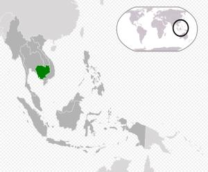 Cambodia kort