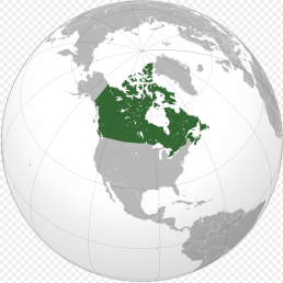 Canada kort