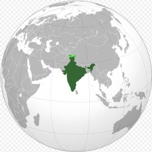 INDLAND kort