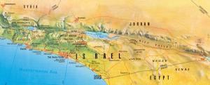 israel kort 1