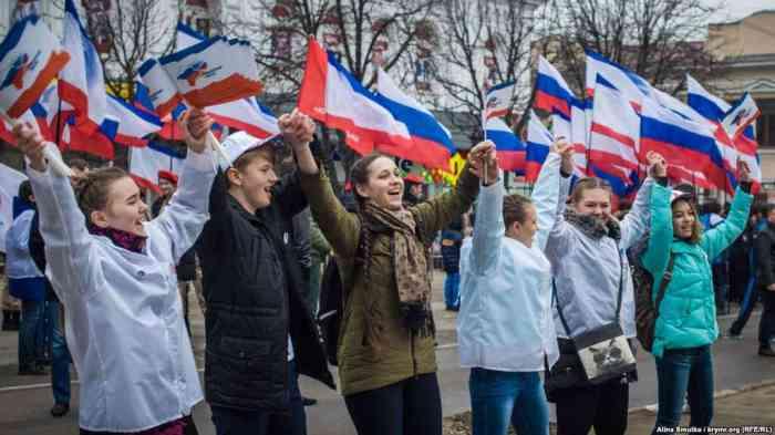 День референдума в Крыму