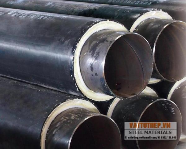 ống thép cách nhiệt Polyurethene