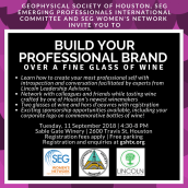 Build Your Professional Brand flyer and social media post