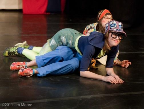 Emily James and Ishah Janssen-Faith perform at Triskelion Arts