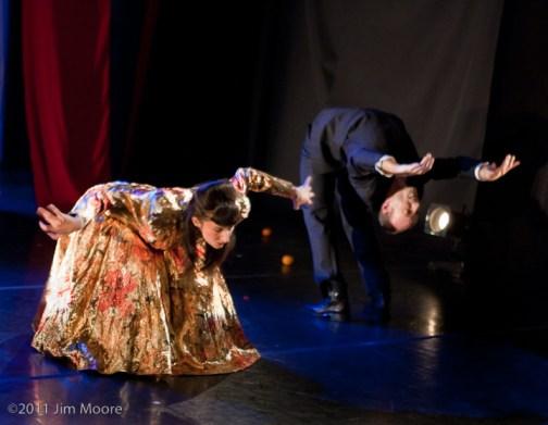 Vangeline and Jonathan Nosan performing at Triskelion Arts