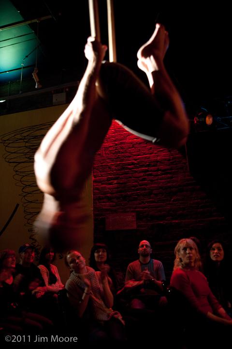 Jason Mejias performs at Loose Caboose show.