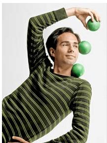 Michael Karas is aNY based award winning juggler.