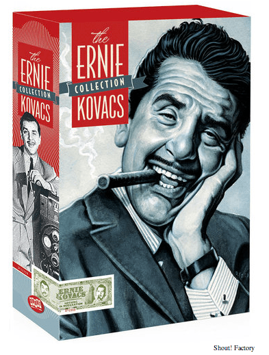 Shout Factory presents Ernie Kovacs DVD set
