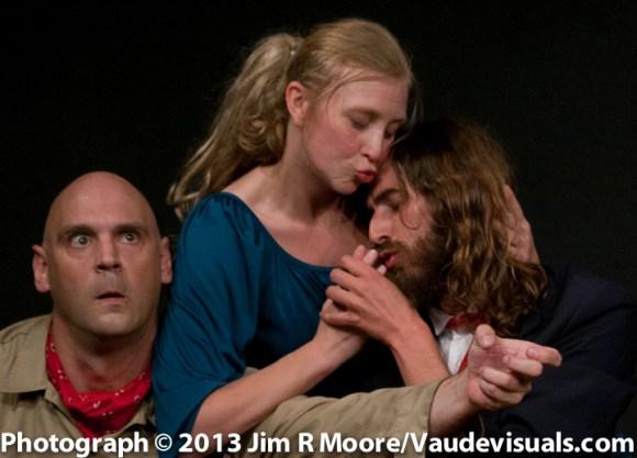Aaron Tucker , Amanda Huotari, Daniel Orrantia.