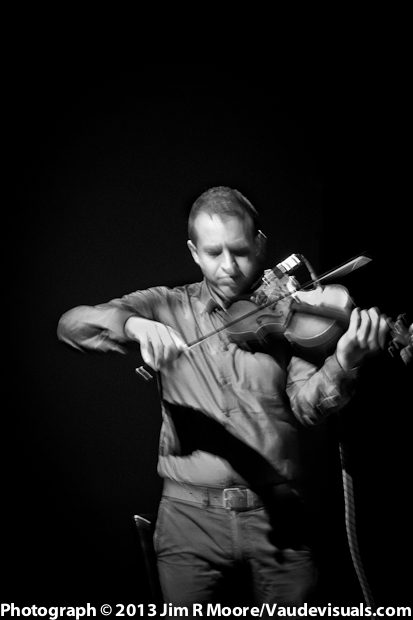 Dan Bartfield was marvelous on the violin at Dixon Place.