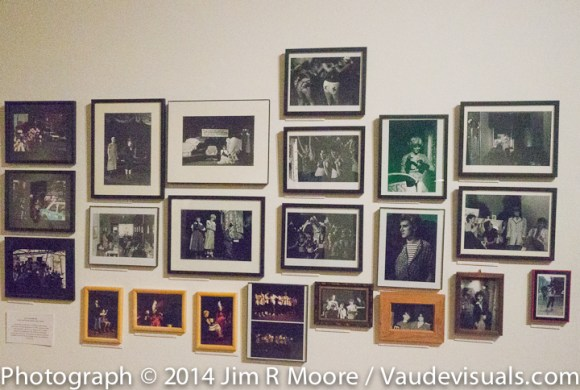 Photographs on display at LaMama Galleria