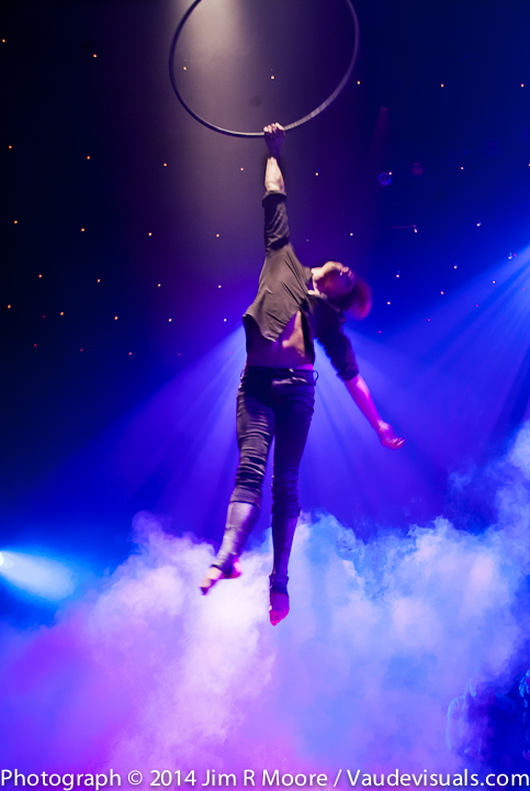 Bret Pfister performing at La Soiree
