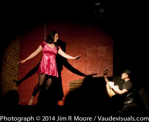 Katy Pyle and Jules Skloot performing at Full Moon Show