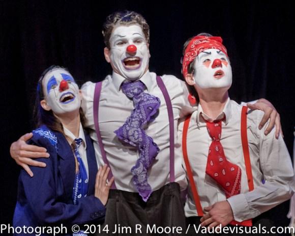 Four Clowns at LaMama.