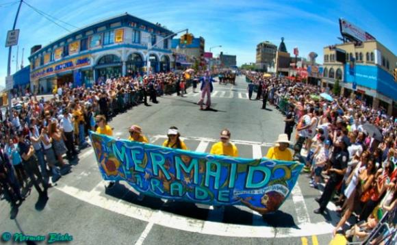 Mermaid Parade on Coney Island