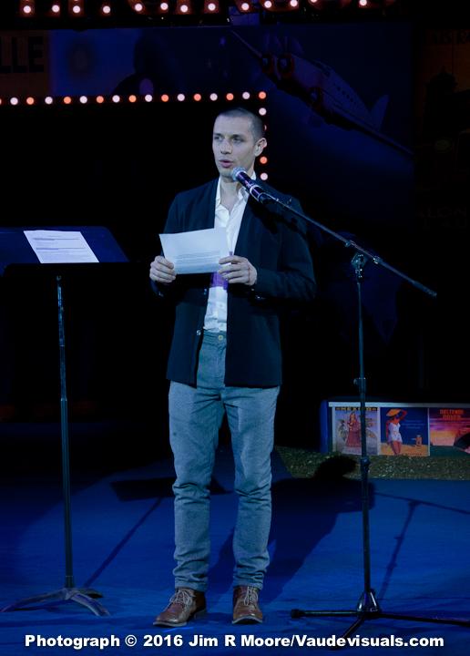 Duncan Wall introduces the Elevating Circus Award.