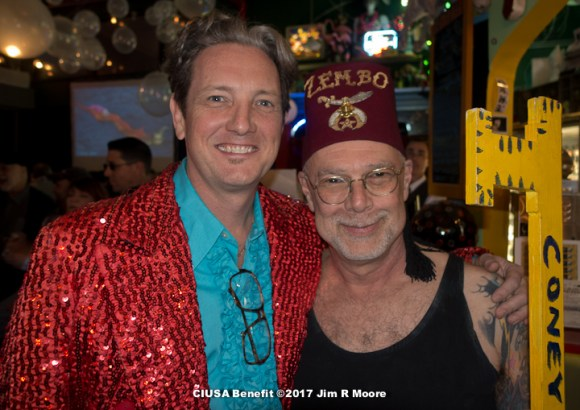 Fred Kahl and Dick Zigun
