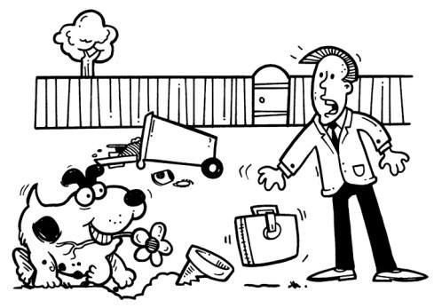 DogFamily_Digging