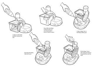 Wacky Water Instructions