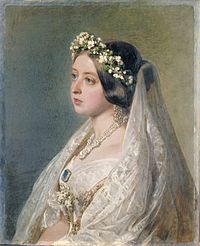Victoria's wedding dress