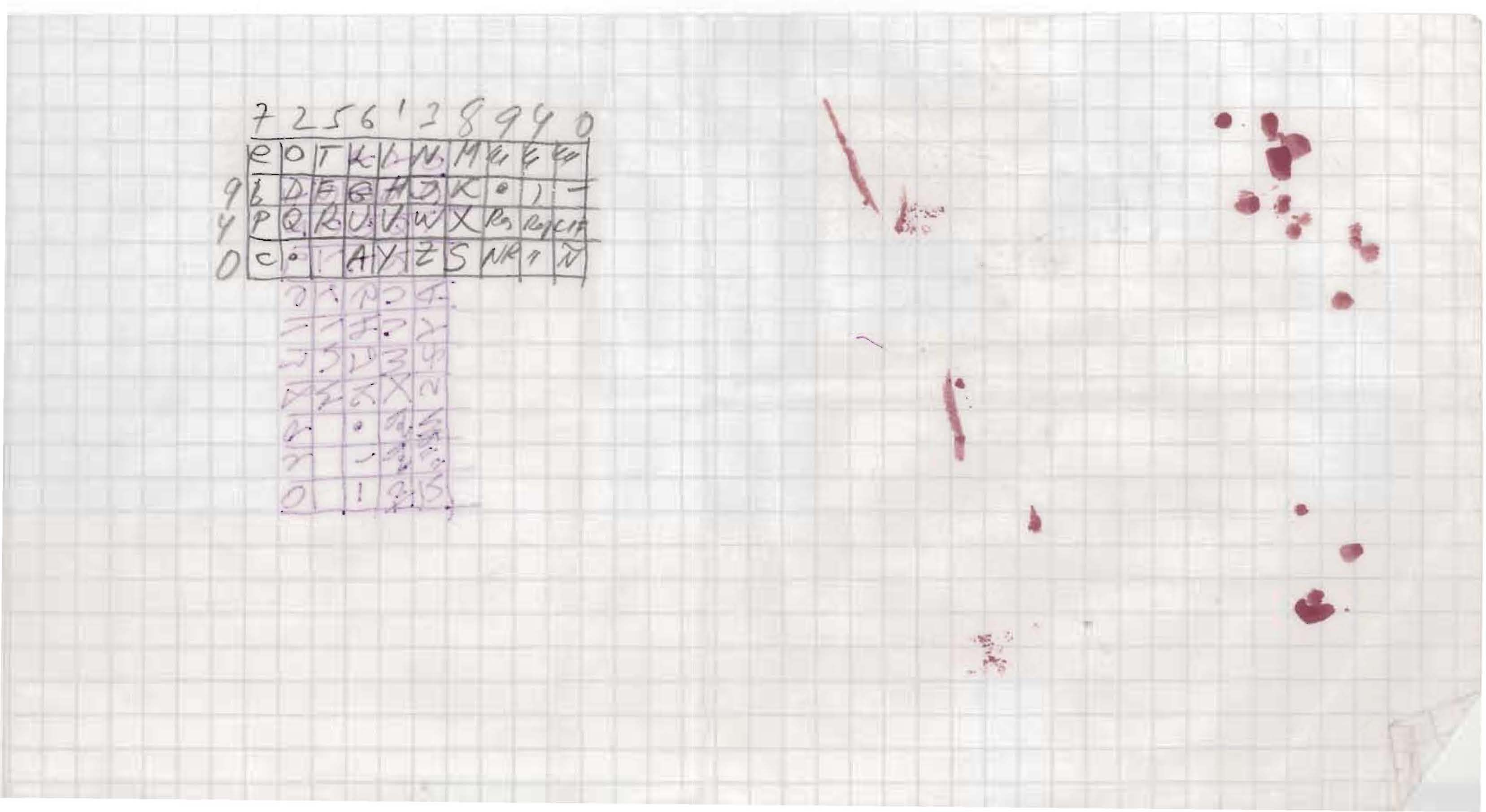 FBI Records: The Vault — Checker Board Code Photo 2