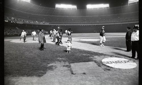 Senators Baseball Field, September 30, 1971