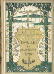 Washington Irving, Tales of a Traveller (NY: Putnam, 1895), gift of Wendi D. Slagle to George Mason University Libraries