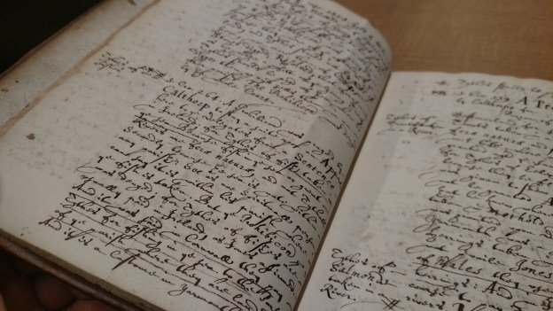 Manuscript annotations bound with The Parson's Guide