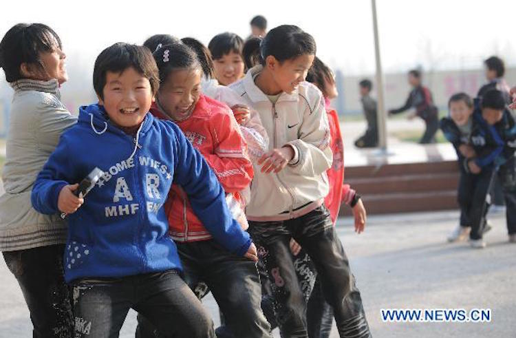 orphans in Henan