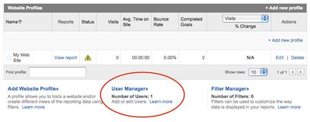 Adding Viewers to Google Analytics