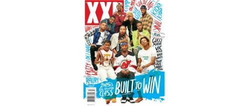 2015 XXL FRESHMAN COVER