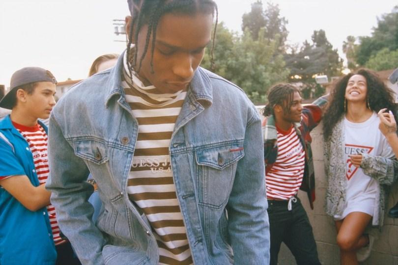 ASAP Rocky & Guess