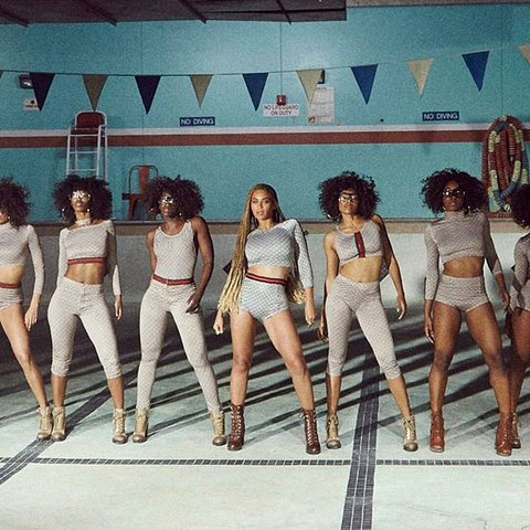 """Beyonce in Gucci for """"Formation"""" Video"""