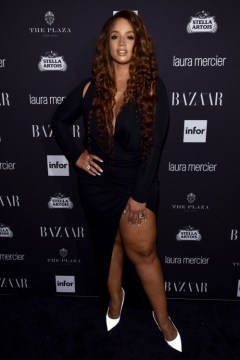 "NEW YORK, NY - SEPTEMBER 09: Dascha Polanco attends Harper's Bazaar's celebration of ""ICONS By Carine Roitfeld"" presented by Infor, Laura Mercier, and Stella Artois at The Plaza Hotel on September 9, 2016 in New York City. (Photo by Dimitrios Kambouris/Getty Images for Harper's Bazaar)"