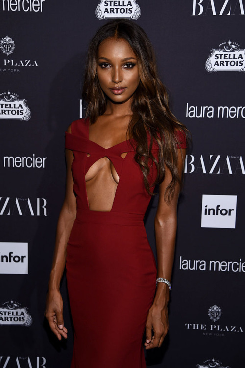 "attends Harper's Bazaar's celebration of ""ICONS By Carine Roitfeld"" presented by Infor, Laura Mercier, and Stella Artois at The Plaza Hotel on September 9, 2016 in New York City."