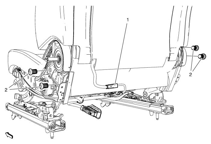 Service manual [How To Remove Front Seat Drivers Side Seat