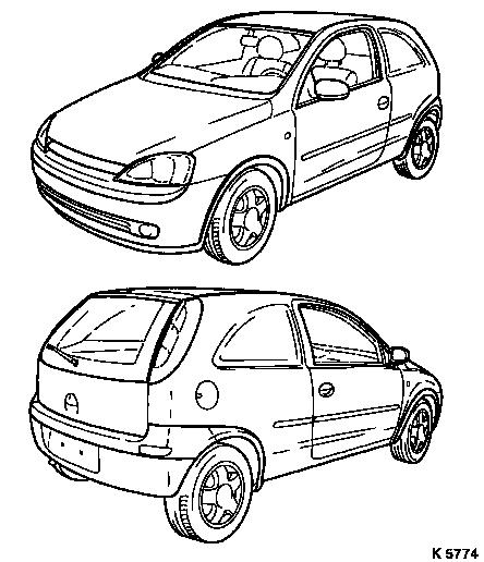 Vauxhall Workshop Manuals > Corsa C > General Vehicle
